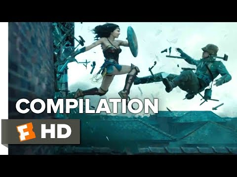 Wonder Woman ALL Trailers + Clips (2017) | Movieclips Trailers
