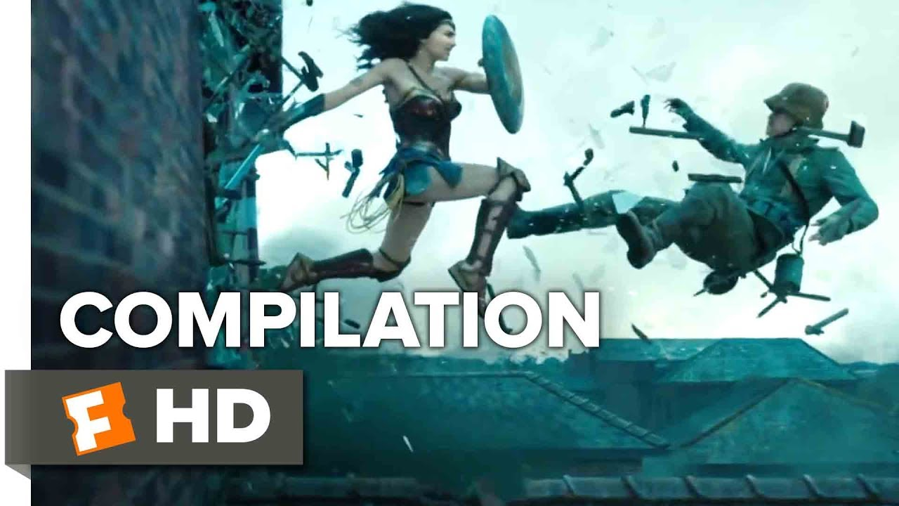 Wonder Woman All Trailers Clips 2017 Movieclips Trailers