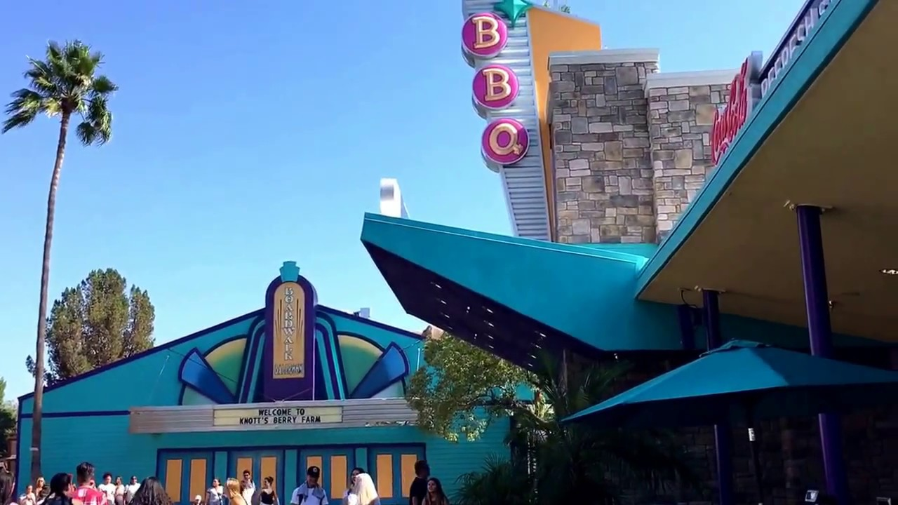 knott's boardwalk bbq counter service restaurant opens berry farm