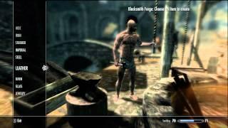 skyrim eeasy way to get best weapon armor fast lvl up