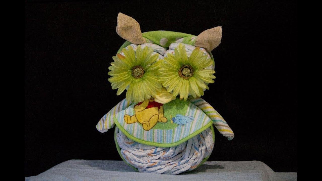 Owl Cake Instructions