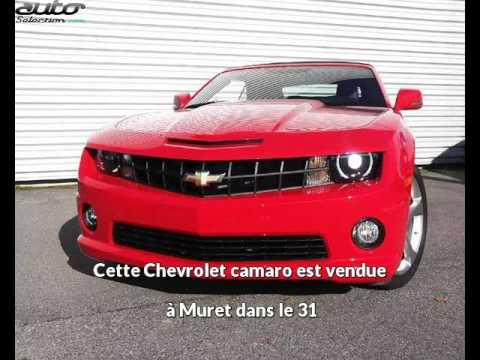 Chevrolet Camaro Occasion Visible Muret Prsente Par Muret Motors