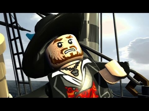 LEGO Pirates Of The Caribbean - 100% Guide #3 - The Black Pearl Attacks (All Collectibles)