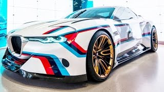 BMW 3.0 CSL Hommage R 2015 Videos