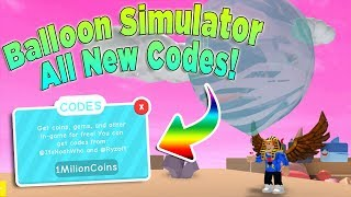ALL *NEW* DINO OP CODES - ROBLOX BALLOON SIMULATOR