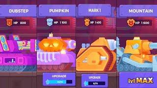 Tank Stars - Gameplay Walkthrough part 32 - All New Tanks (iOS, Android)
