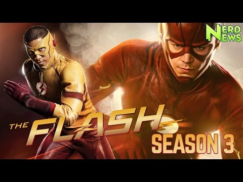 Flash Season 3 Trailer Reaction! (And Netflix/ABC Marvel Crossover?)