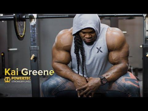 IFBB Pro Bodybuilder Kai Greene X Powertec Strength Equipment