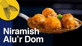 Niramish Aloo'r Dum Bengali Recipe | Easy Aloo Dum without Onion & Garlic | Bhoger Alur Dom