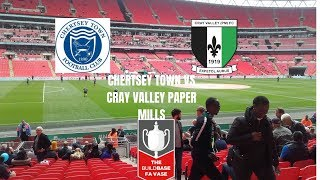 GROUNDHOPPING - Chertsey Town vs Cray Valley PM - FA VASE FINAL 2019