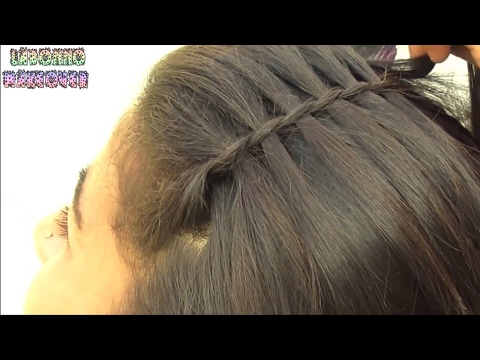 Easy and Quick Everyday Waterfall Hairstyles for Long Hair