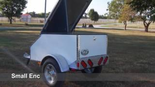 Small enclosed cargo trailers for sale