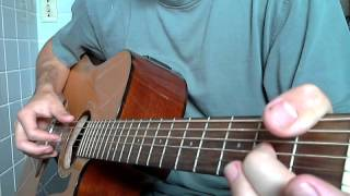 """Acoustic Blues Guitar Lesson Pt 2 - """"Come Back Baby"""""""