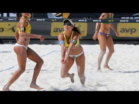Agatha/Barbara (BRA) vs. Juliana/Antonelli (BRA) - Final - St. Petersburg - World Tour Grand Slam