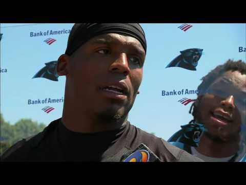 Benjamin makes cameo appearance during Newton interview