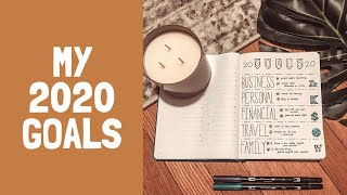 setting 10 realistic goals for 2020 | my business, personal, financial, travel + family goals