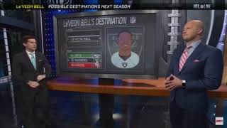 Le'Veon Bell to play for the Oakland Raiders in the 2019 NFL season