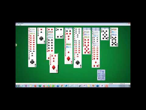 How to beat Four Suit Spider Solitaire tutorial