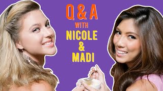 Answering Your Questions | NICOLE CORDOVES X MADISON BERRIOS