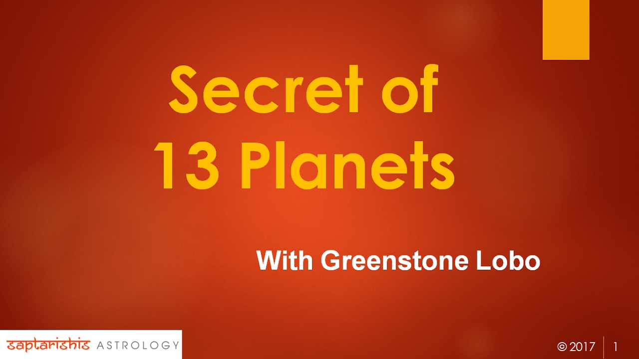Secret of 13 Planets - True Astrology - Part 1