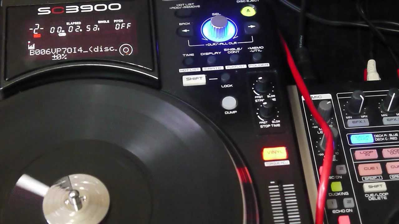 First Look The Denon Dj Sc3900 In The Worxlab
