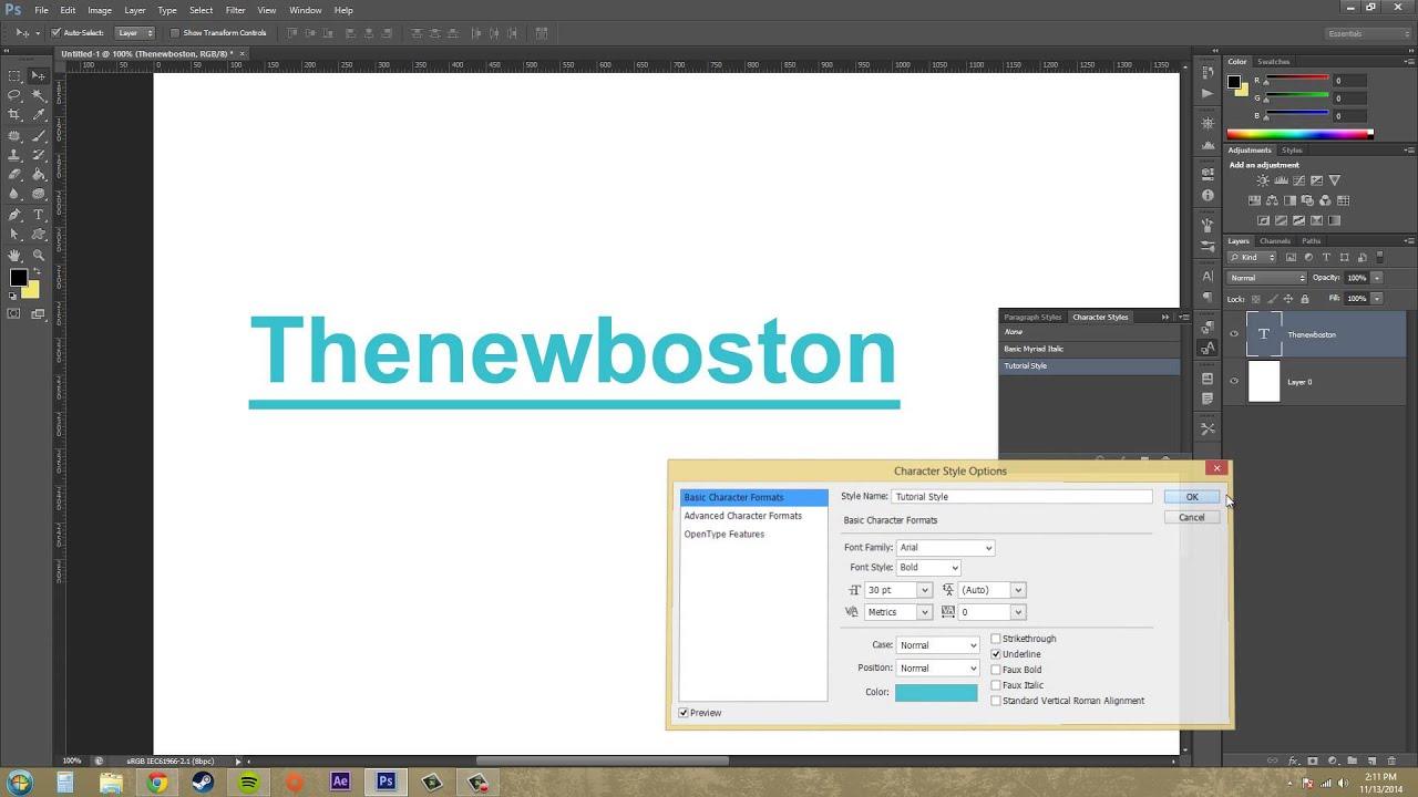 Photoshop cs6 tutorial 185 text styles youtube photoshop cs6 tutorial 185 text styles baditri Choice Image