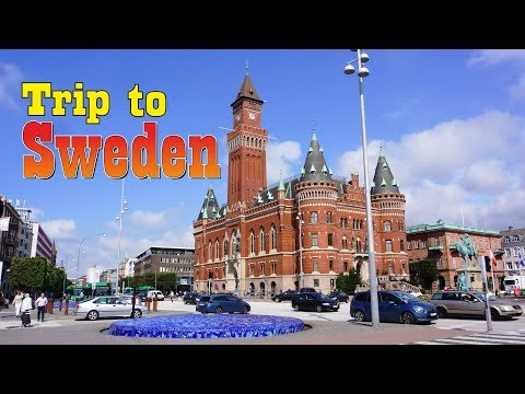Travel Trip to Sweden Stockholm Gothenburg  Sigtuna Helsingborg