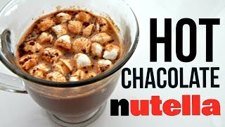 Nutella Hot Chocolate (how To, Easy Recipe)