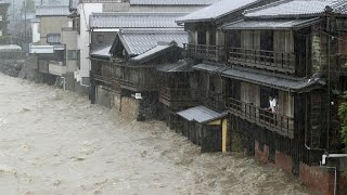 Japan launches major rescue efforts after typhoon unleashes deadly floods