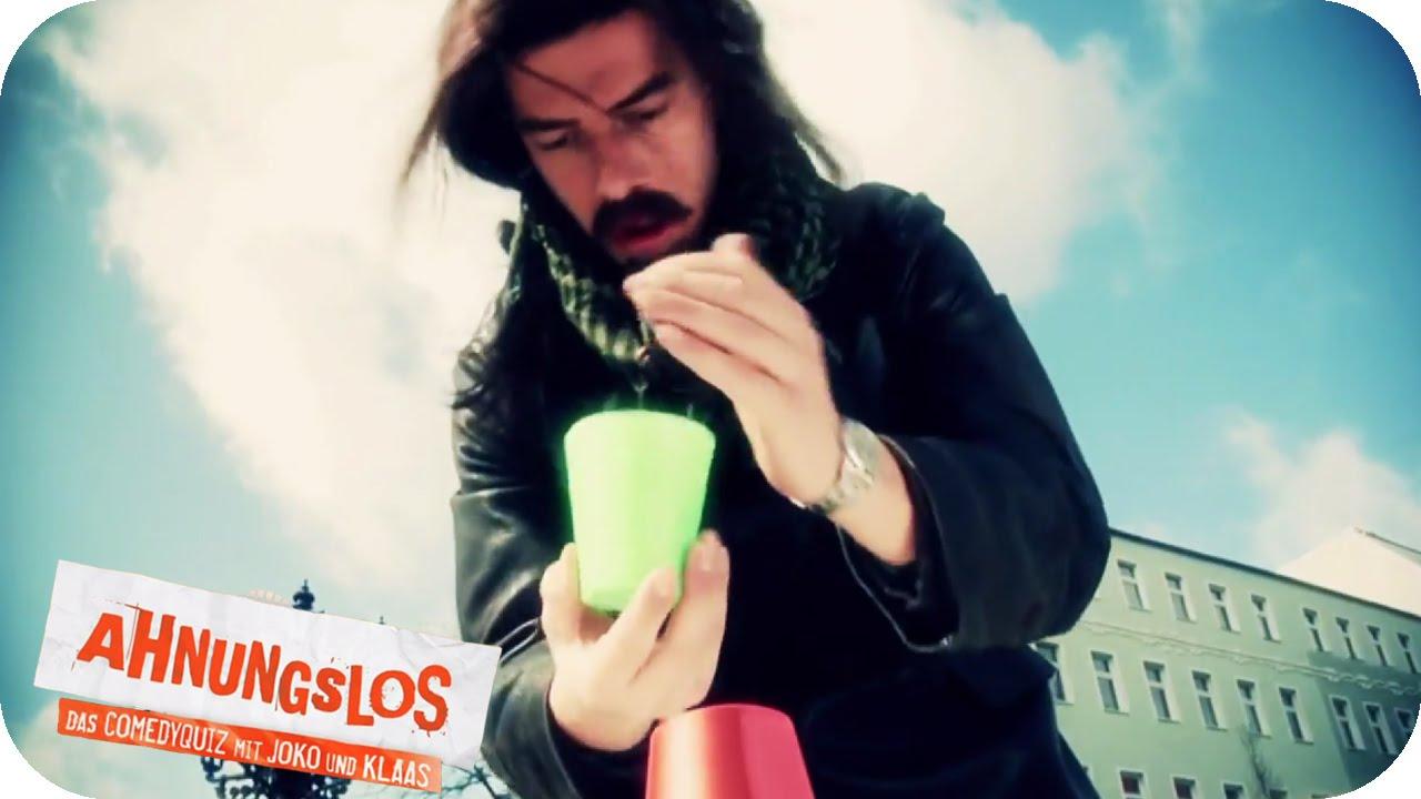 Joko als Straßenkünstler | Ahnungslos - Das Comedyquiz mit Joko und Klaas