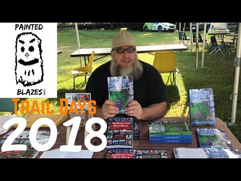 Trail Days 2018 Book Vendors ~ Loner (Painted Blazes)