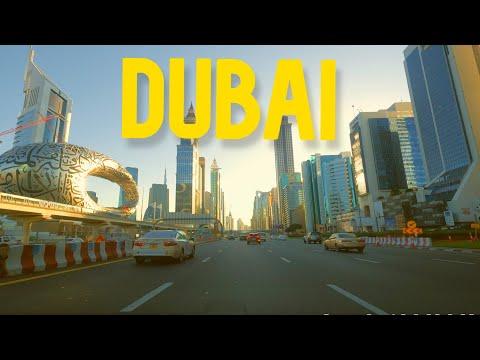 Dubai – Driving Downtown – 4K @J Utah
