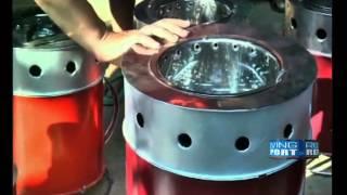 Manipuri entrepreneur promotes eco-friendly cooking stove