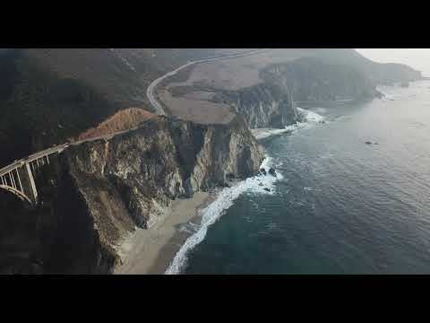 Big Sur California Coastline United States - Stunning 4K High Definition (HD)