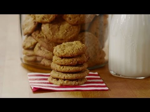 How To Make Oatmeal Peanut Butter Cookies | Cookie Recipes | Allrecipes.com