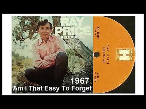 Ray Price - Am I That Easy To Forget - YouTube
