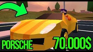 👑 Porsche a 70.000 KUPI-EM! ROBLOX JAILBREAK - 👑 ROBLOX [#89]