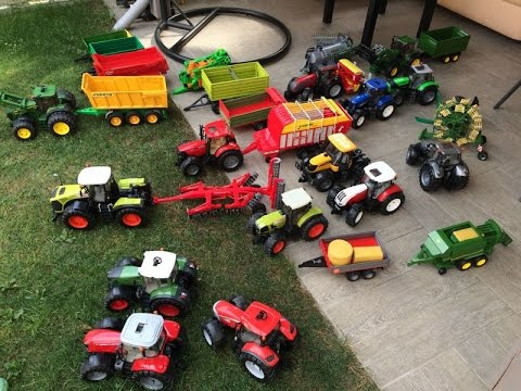BRUDER TRACTOR FARMs
