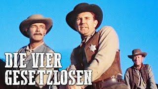Die vier Gesetzlosen (Western deutsch, Spielfilm in voller Länge, kostenlos anschauen)