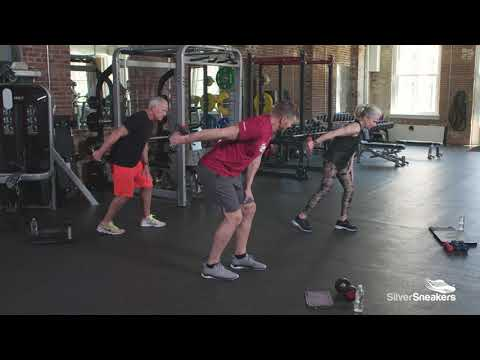 silver sneakers dumbbell exercises