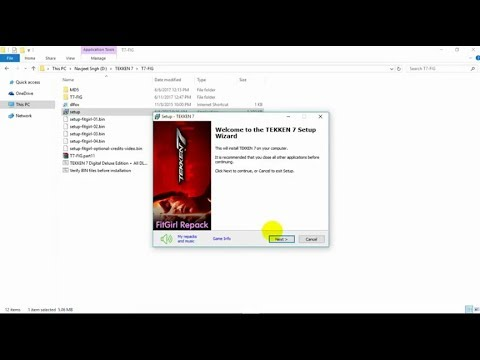 HOW TO INSTALL TEKKEN 7:DIGITAL DELUXE EDITION - ALL NLCS - MULTIPLAYER  [Fitgirl repack]