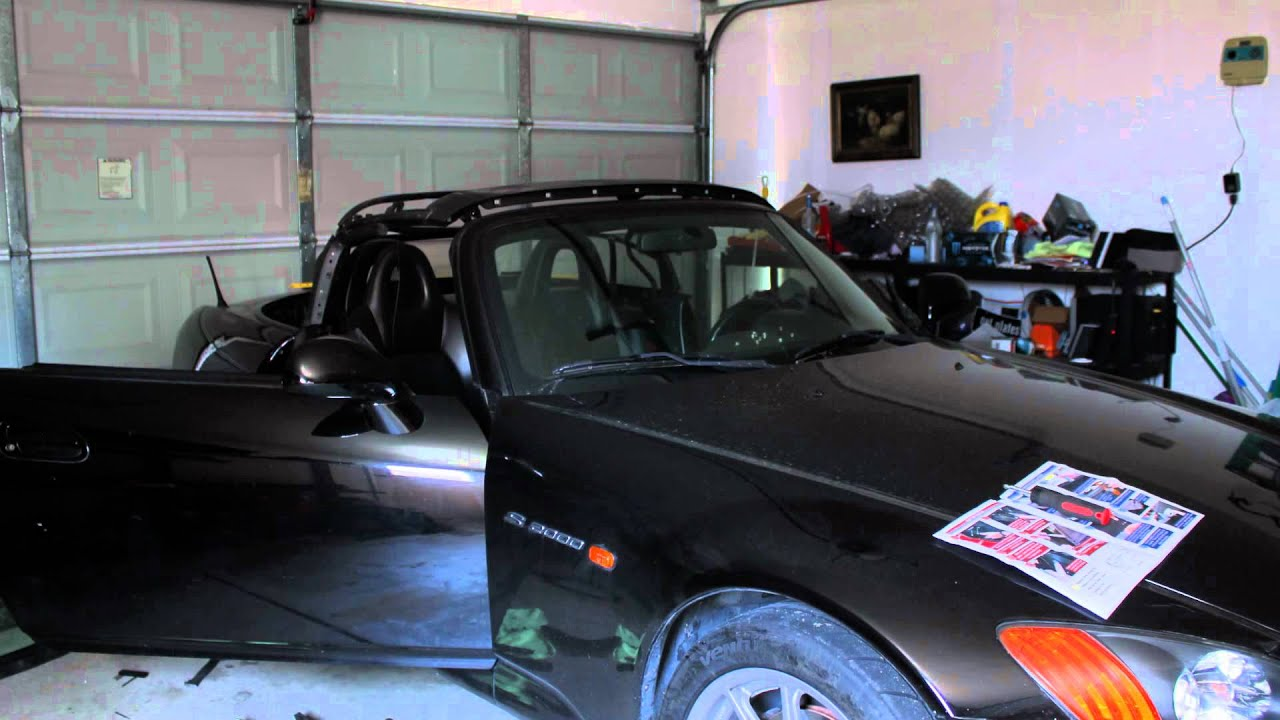 S2000 Soft Top Install Time Lapse
