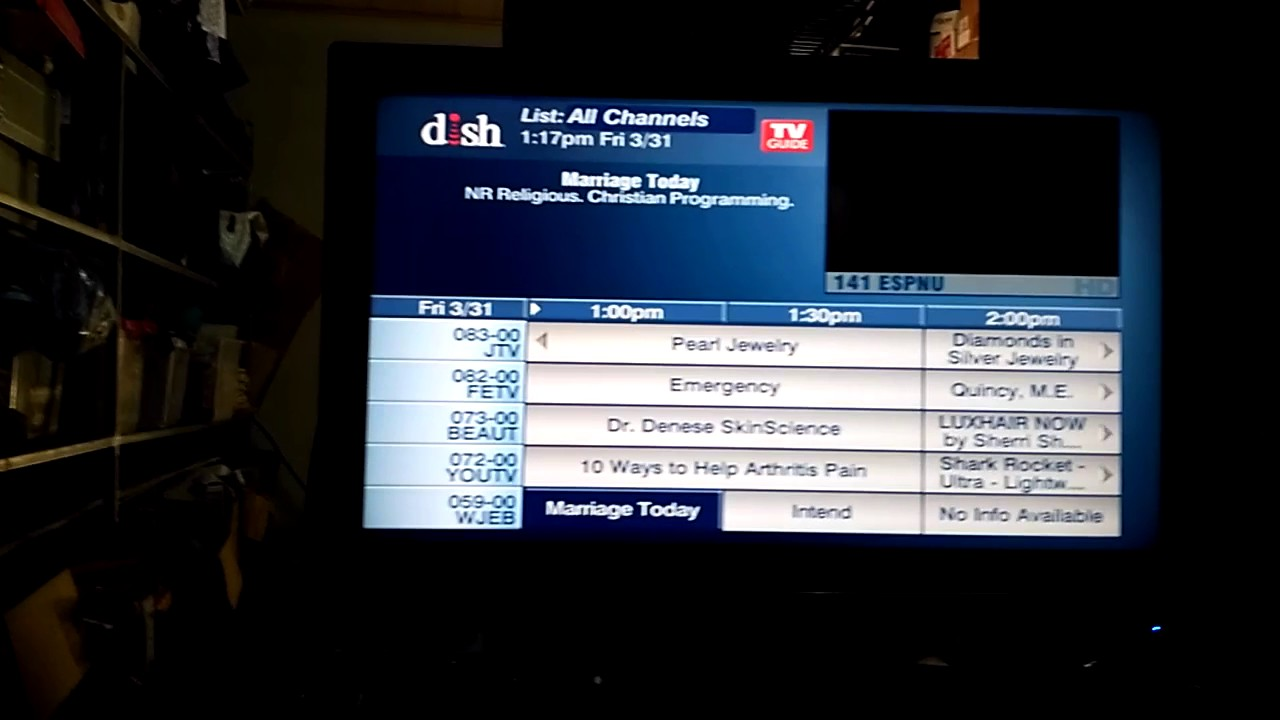 DISH Channel Lineup - See Channels by DISH Package | DISH