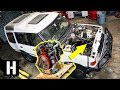 Cummins R2.8 Turbo Diesel Soon to Power Scotto?s Land Rover Discovery?!? #semacrunch