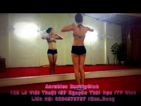 Aerobics Thể Dục Thẩm Mỹ Beauty Club - Bài Giật