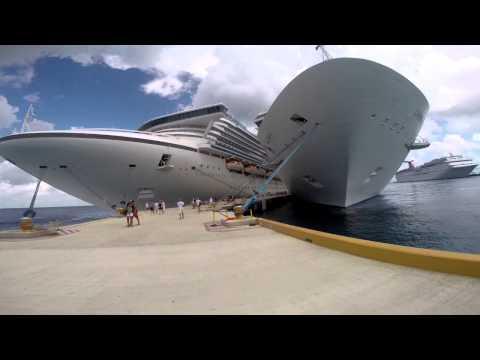 18/29 Voltando ao navio depois de andar no calor de Cozumel Caribbean Princess - VLOG
