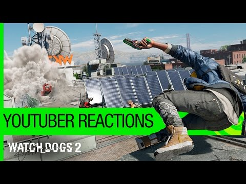 Watch Dogs 2 – YouTuber Reactions | Ubisoft [NA] from YouTube · Duration:  1 minutes 17 seconds