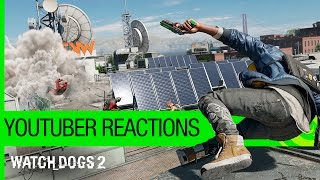 Watch Dogs 2 – YouTuber Reactions [US]