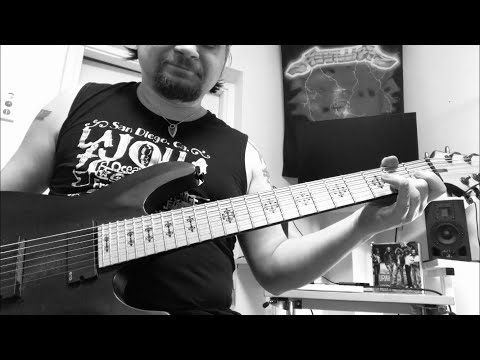 Fireproven - Waves of Extinction - Official guitar tutorial part 3. SECOND VERSE
