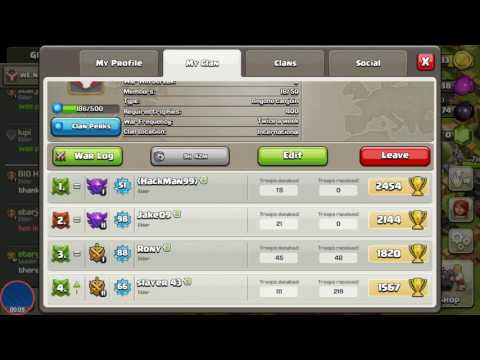 HOW TO GET 2 LEADERS IN A CLAN IN CLASH OF CLANS EPIC FAIL
